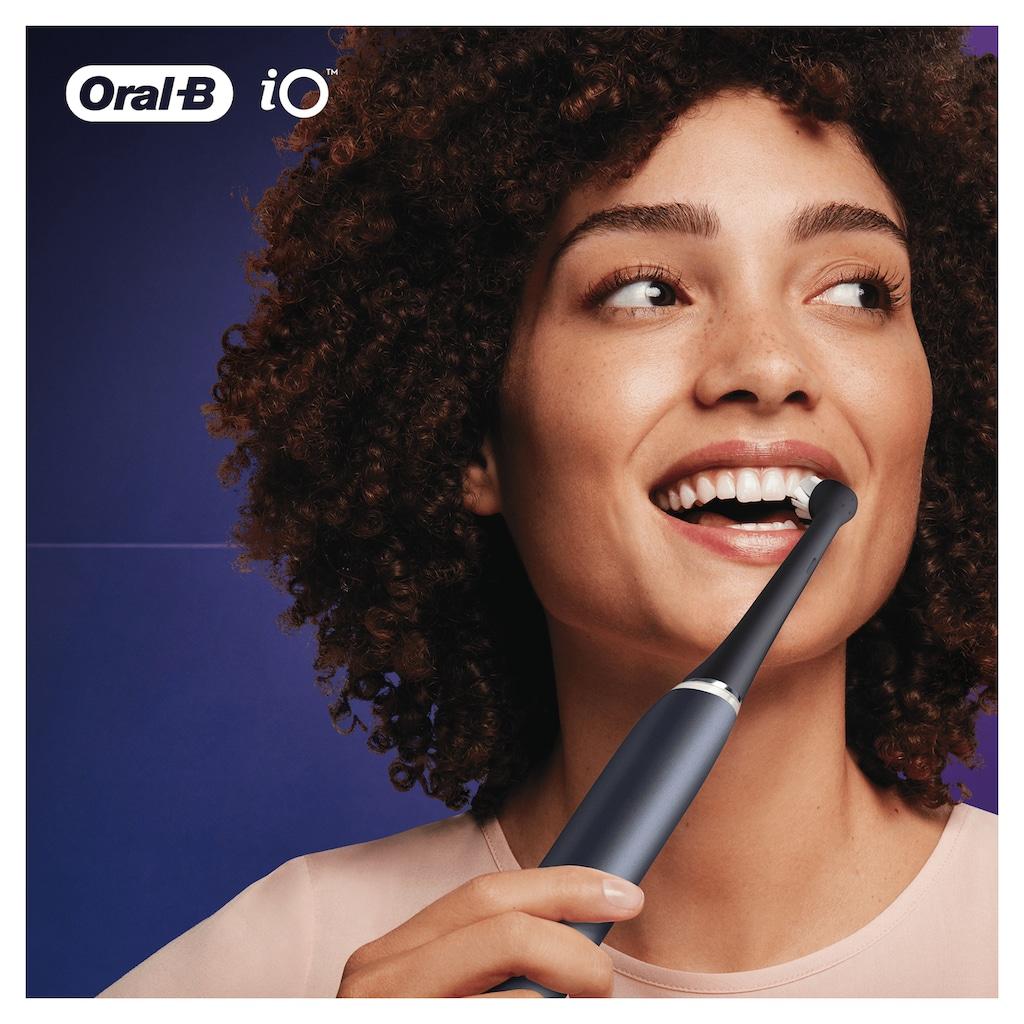 Oral B Aufsteckbürsten »iO Ultimative Reinigung BLACK«, iO Technologie