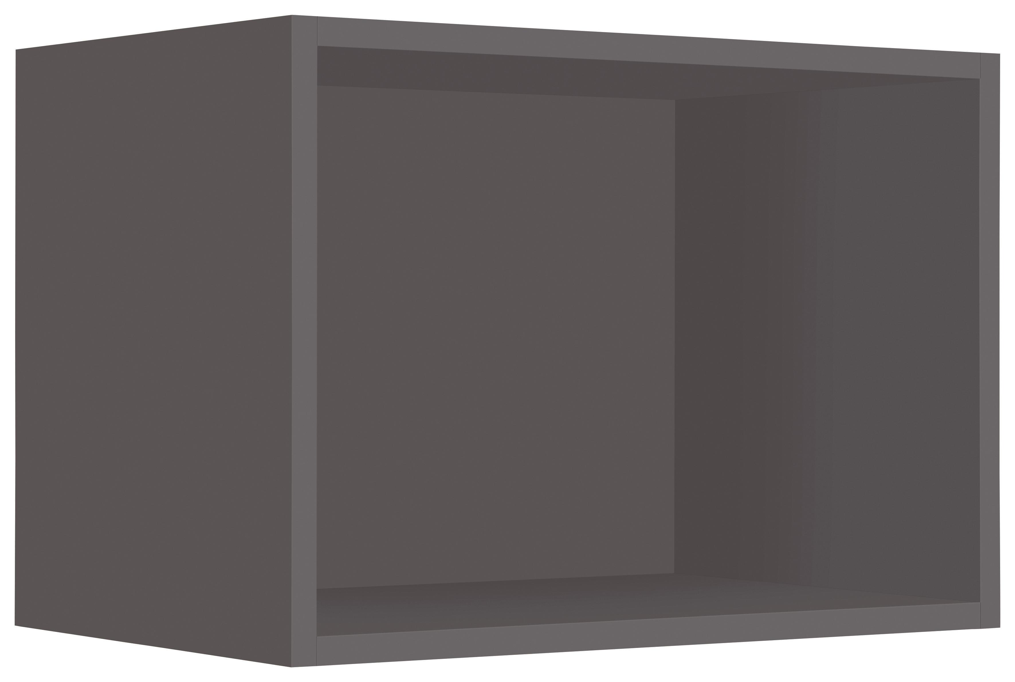 WIHO-Küchen Hängeregal »Flexi2«, Breite 50 cm | Küche und Esszimmer > Küchenregale > Küchen-Standregale | Grau | Melamin | WIHO KÜCHEN