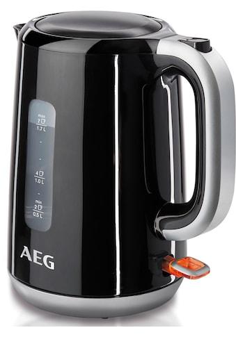 AEG Wasserkocher, Perfect Morning EWA 3700, 1,7 Liter, 3000 Watt kaufen