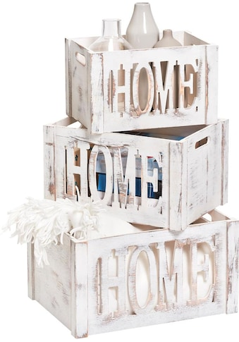 Zeller Present Aufbewahrungskiste »Home« kaufen