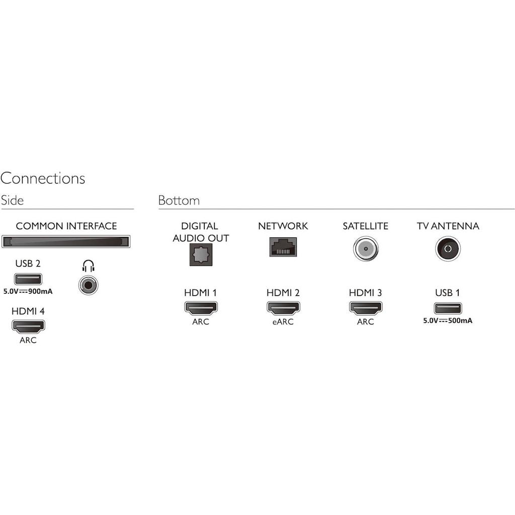 "Philips LED-Fernseher »58PUS8506/12«, 146 cm/58 "", 4K Ultra HD, Smart-TV"