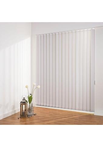 Liedeco Lamellenvorhang »Lamellenvorhang Vertikalanlage perlex - 89 mm Lamelle«,... kaufen