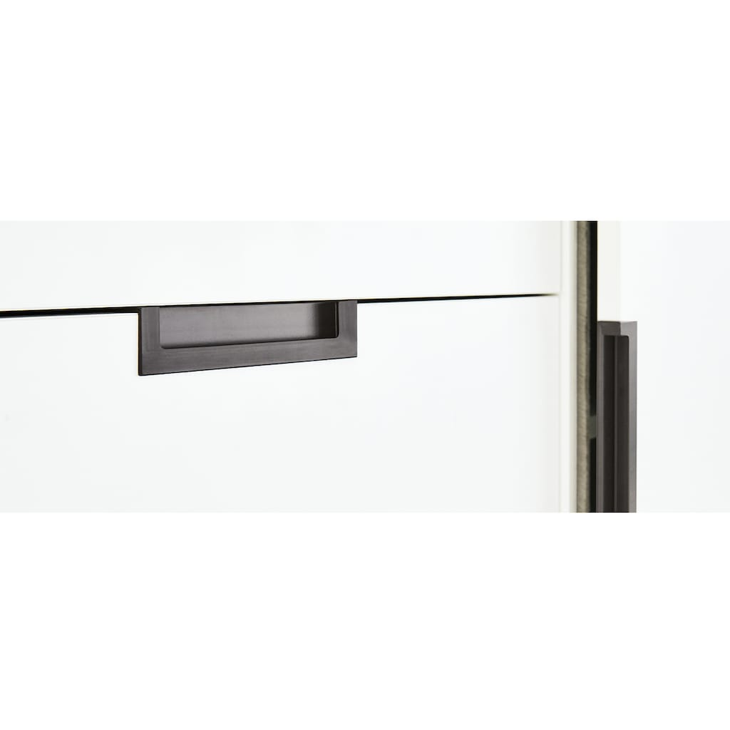 Pinolino® Babymöbel-Set »Steel«, (Spar-Set, 2 St.), extrabreit; mit Kinderbett und Wickelkommode; Made in Europe