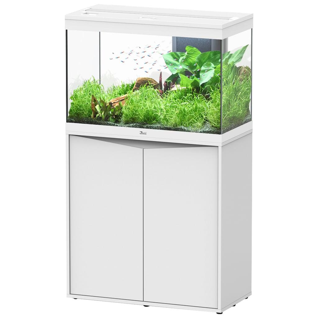 Aquatlantis Aquarien-Set »Splendid 145«, BxTxH: 80x40x139 cm, 180 l, mit Unterschrank in weiß