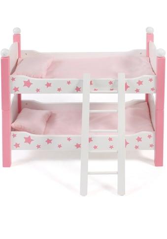 """CHIC2000 Puppenbett """"Stars Pink"""" kaufen"""