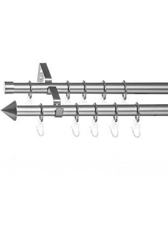 LICHTBLICK ORIGINAL Gardinenstange »Gardinenstange Kegel, 20 mm, ausziehbar, 2 läufig... kaufen