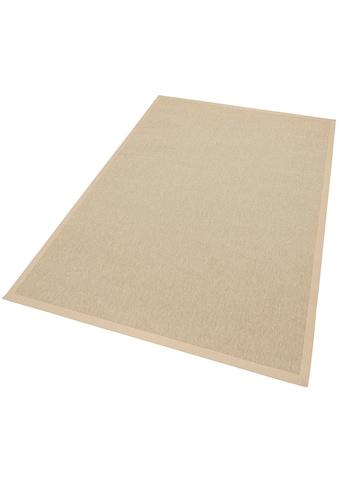 Dekowe Teppich »Naturino Rips, Wunschmaß«, rechteckig, 7 mm Höhe, Flachgewebe, Sisal-Optik, In- und Outdoor geeignet, Wohnzimmer kaufen
