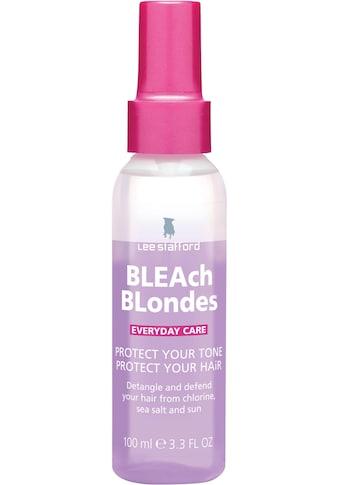 """Lee Stafford Haarpflege-Spray »Bleach Blondes """"Everyday Care"""" UV protection spray« kaufen"""