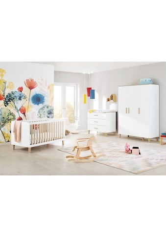 Pinolino® Babyzimmer-Komplettset »Lumi«, (Set, 3 St.), breit groß; mit Kinderbett,... kaufen
