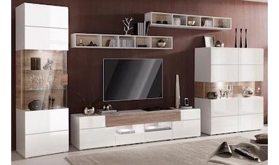 TRENDMANUFAKTUR Wohnwand »Toledo« (Set, 5 - tlg) kaufen