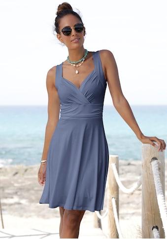 Vivance Jerseykleid, mit tollem Ausschnitt kaufen