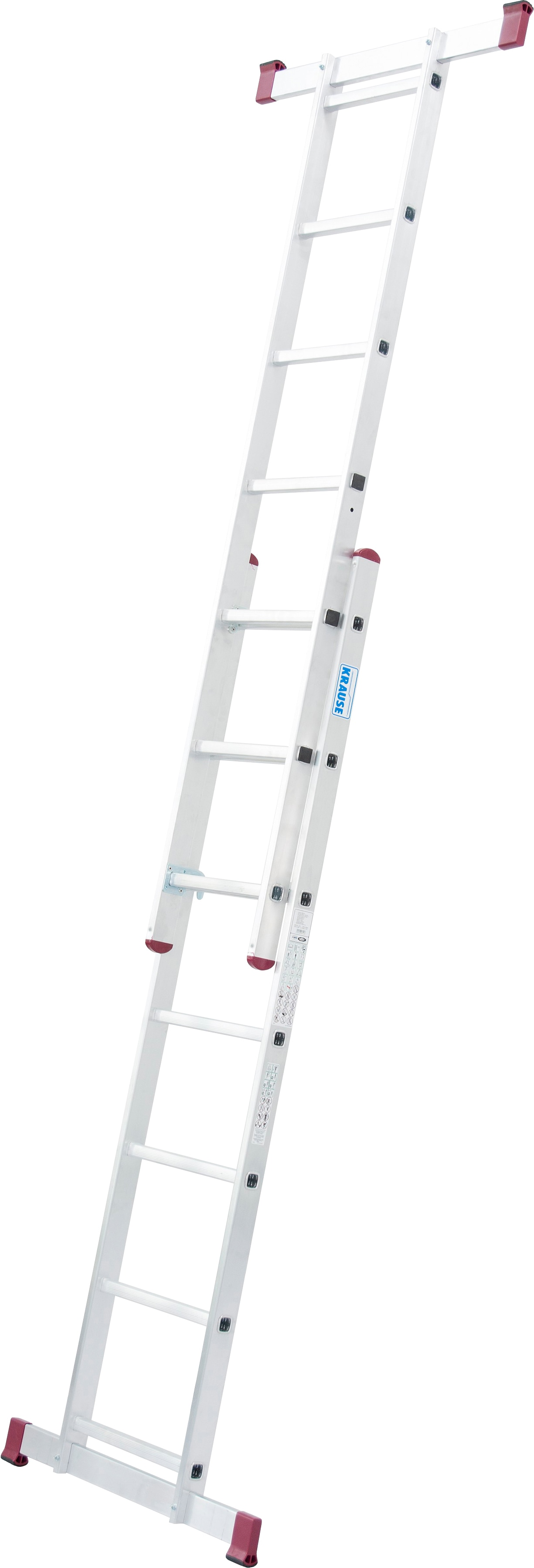 KRAUSE Leiterngerüst »Corda«, 2x7 Sprossen | Baumarkt > Leitern und Treppen > Leitergerüst | KRAUSE