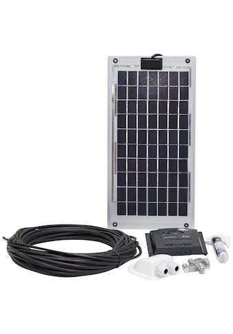 SUNSET Set: Solarstrom - Set für Boote, Yachten oder Caravan, 10 Watt kaufen