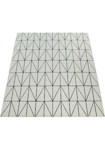 Paco Home Teppich »Brugge 224«, rechteckig, 4 mm Höhe, In- und Outdoor geeignet,... kaufen