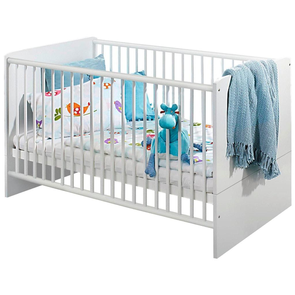 rauch ORANGE Babyzimmer-Komplettset »Potsdam«, (Set, 3 tlg.), Bett + Wickelkommode + 3 trg. Schrank