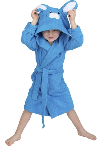 Wewo fashion Kinderbademantel »8024«, (1 St.), mit niedlicher Hasenkapuze kaufen