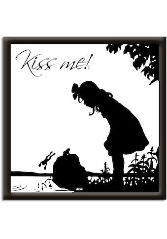 Artland Wandbild »Küss mich« kaufen
