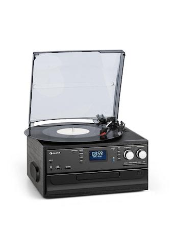Auna Oakland DAB Retro - Stereoanlage DAB+/FM BT - Funktion Vinyl CD »408 - 4« kaufen