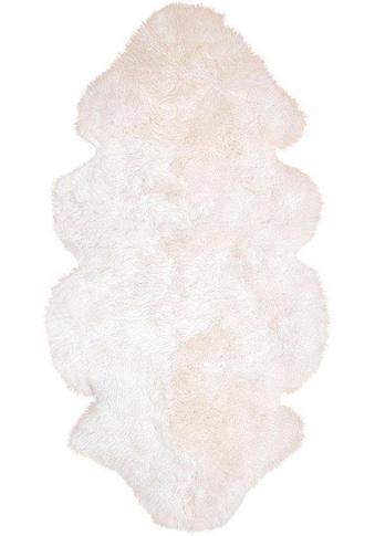 Fellteppich, »Lammfell 155 weiß«, Heitmann Felle, fellförmig, Höhe 70 mm, gegerbt kaufen
