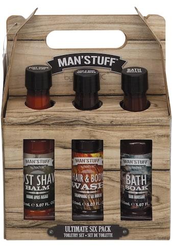 MAN'STUFF Hautreinigungs-Set »Ultimate Sixpack«, (Set, 6 tlg.) kaufen