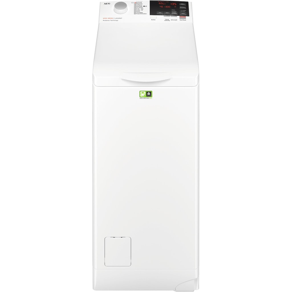 AEG Waschmaschine Toplader »L6TBA664«, L6TBA664, Nachlegefunktion