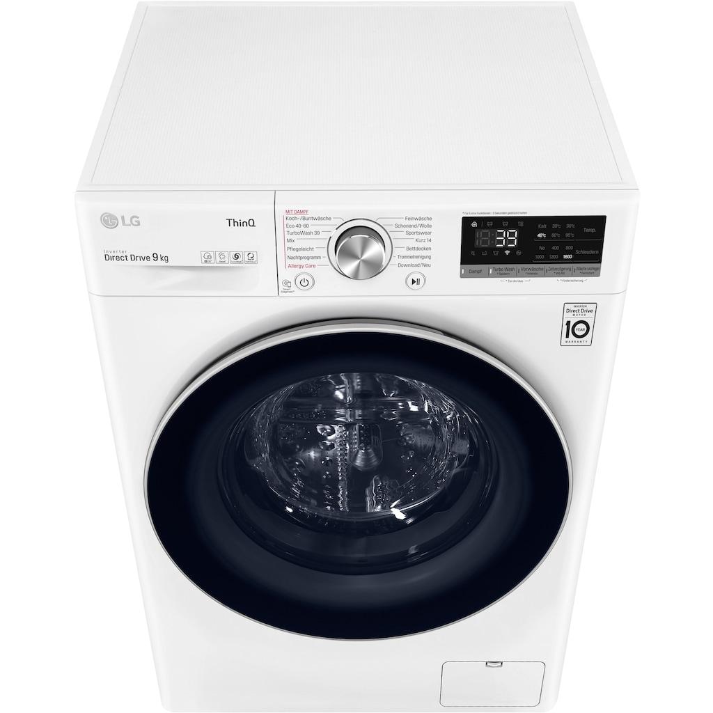 LG Waschmaschine »F6WV709P1«, F6WV709P1, 9 kg, 1600 U/min