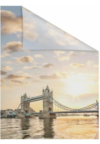 LICHTBLICK ORIGINAL Fensterfolie »Tower Bridge«, 1 St., blickdicht,... kaufen