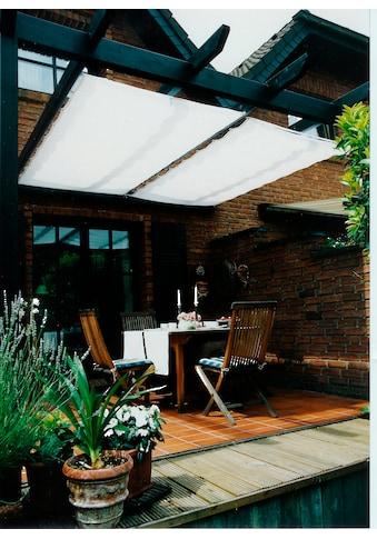 Floracord Sonnensegel, BxT: 330x140 cm, weiß kaufen