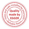 EGGER Laminat »HOME Murom Eiche natur«, ohne Fuge, 1,985 m²/Pkt., Stärke:8 mm