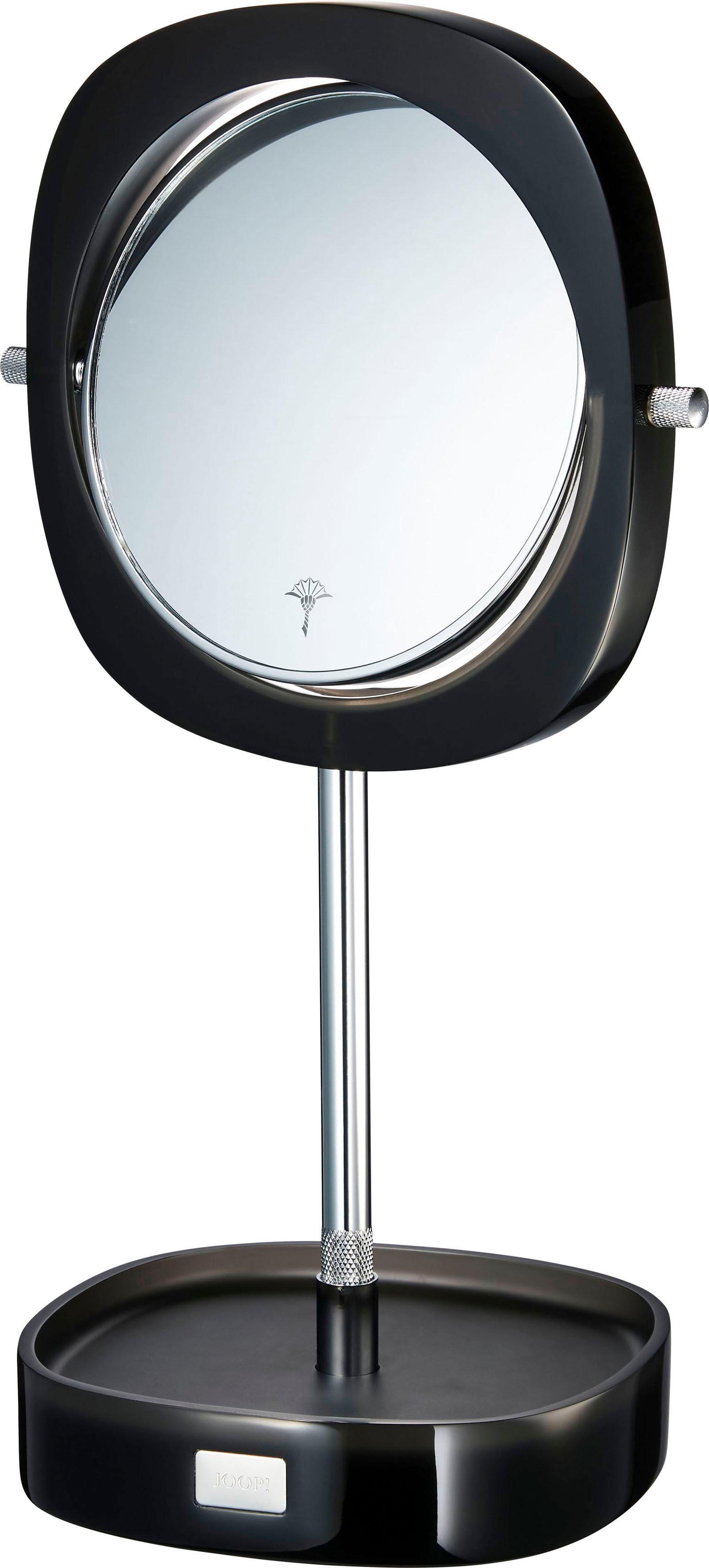 Joop! Kosmetikspiegel »CRYSTAL LINE« | Bad > Bad-Accessoires > Kosmetikspiegel | Grau | Kunststoff - Edelstahl | Joop!
