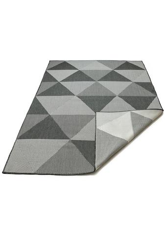 my home Teppich »Elina«, rechteckig, 5 mm Höhe, In-und Outdoor geeignet, Wohnzimmer kaufen