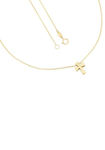 Firetti Kette mit Anhänger »Kreuz, glänzend, Ankerkette« kaufen