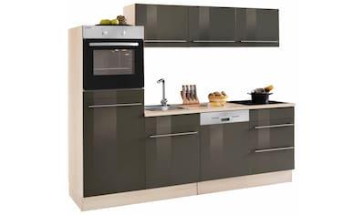 OPTIFIT Küchenzeile »Bern«, Breite 240 cm mit höhenverstellbaren Füßen kaufen