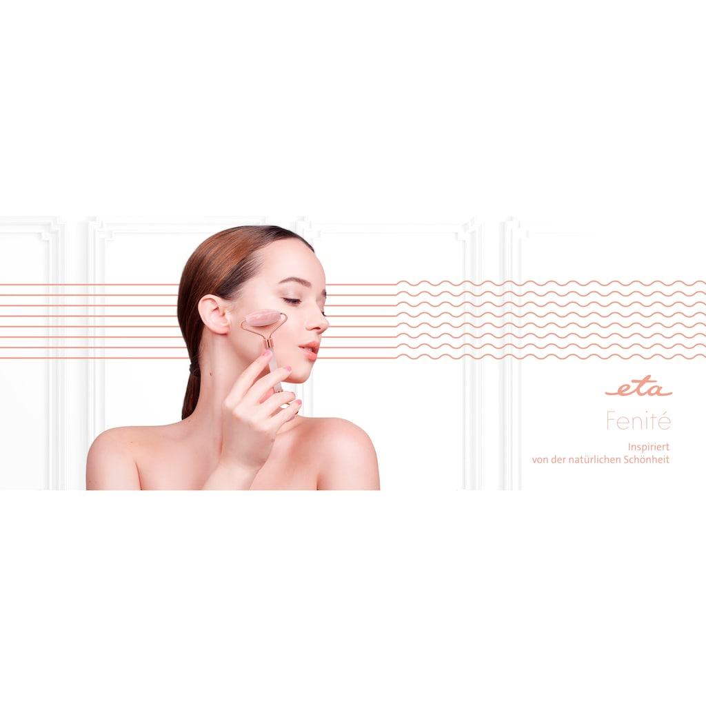 eta Massageroller »FENITÉ ETA035190010«, Rosenquarz Gesichtsbürste zur Verringerung von Schwellungen im Gesicht und Helfer eines jugendlicheren Aussehens der Haut