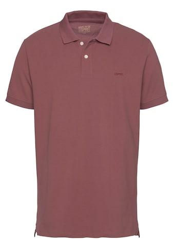 Esprit Poloshirt, mit kleiner Logostickerei auf der Brust kaufen