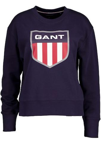 Gant Sweater, mit großem Retro Shield Print kaufen