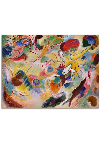 Artland Wandbild »Studie zu Komposition VII«, Gegenstandslos, (1 St.) kaufen