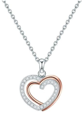 Rafaela Donata Herzkette »50115079«, mit Zirkonia kaufen