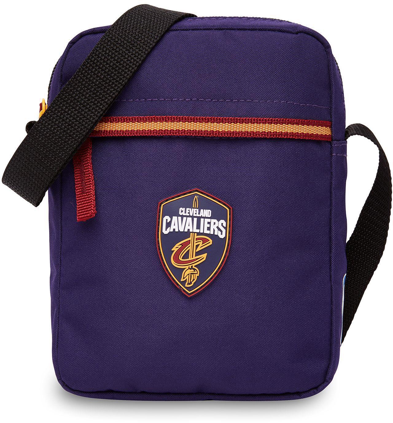 NBA Umhängetasche, »NBA Small Shoulder Bag, Cleveland Cavaliers«   Taschen > Umhängetaschen   Lila   NBA