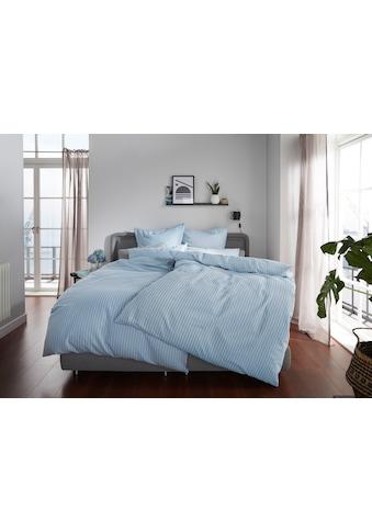 elbgestoeber Bettwäsche »Elbnetz 2«, mit feinen modernen Streifen kaufen