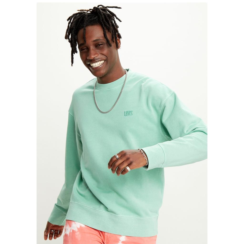 Levi's® Sweatshirt, mit Logo-Stickerei
