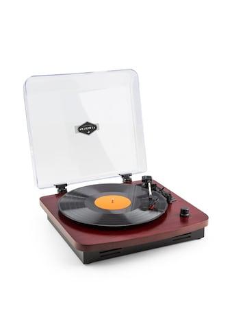 Auna Retro - Plattenspieler integrierte Lautsprecher USB MP3 »TT370« kaufen