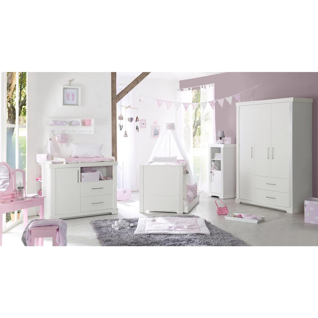 roba® Babyzimmer-Komplettset »Maxi«, (Set, 3 St.), 3-türig; mit Kinderbett, Schrank und Wickelkommode