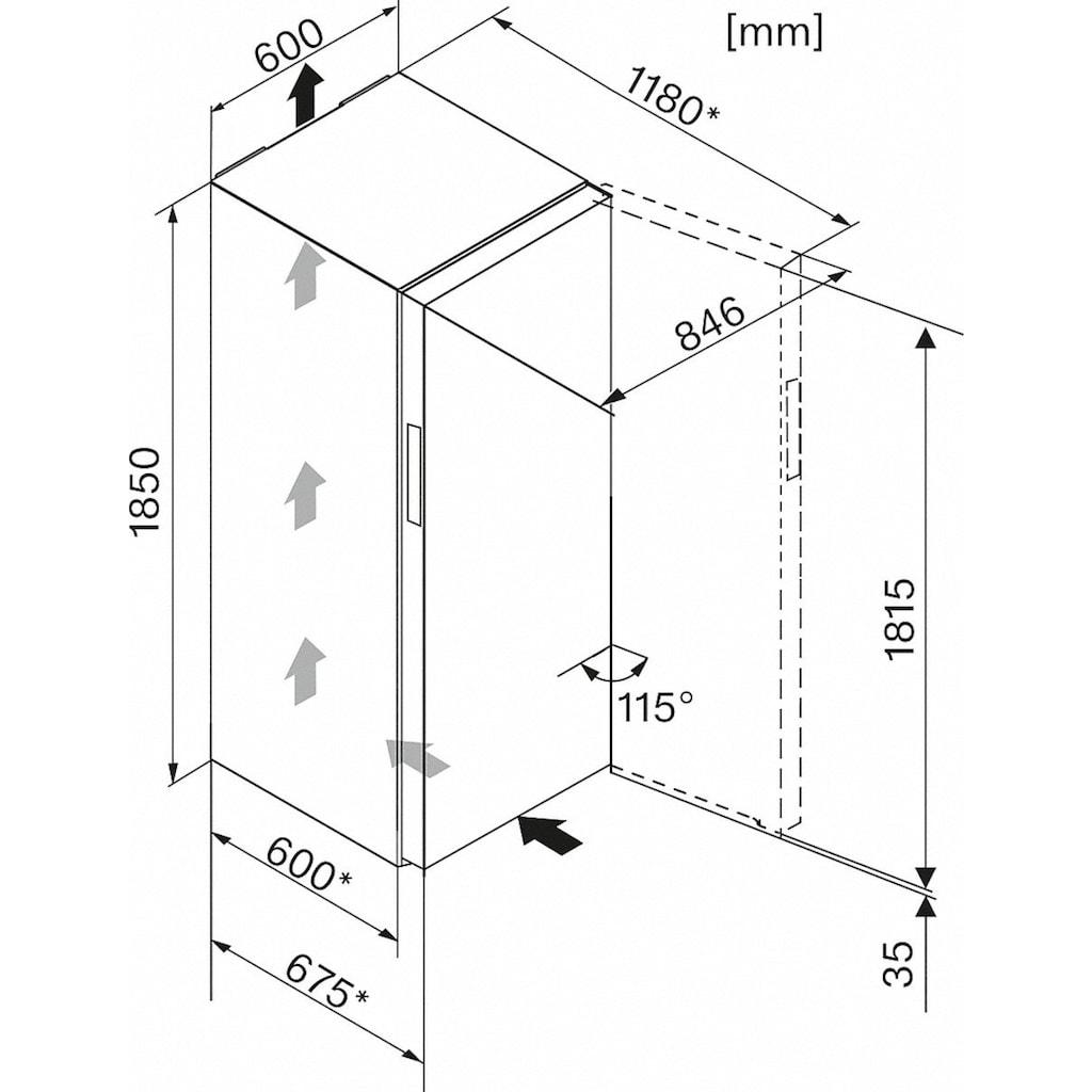 Miele Gefrierschrank »FN 28263 ws«, 185 cm hoch, 60 cm breit
