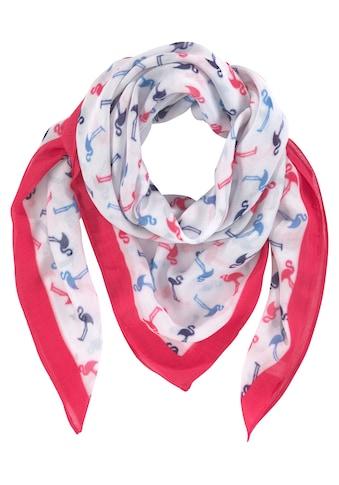 J.Jayz Modetuch, Vierecktuch mit Flamingo Print kaufen