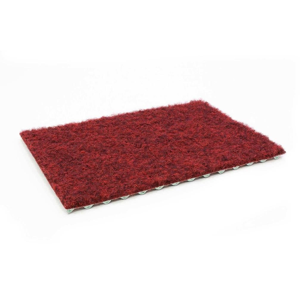 Primaflor-Ideen in Textil Kunstrasen »GREEN«, rechteckig, 7,5 mm Höhe, Rasenteppich, rot, mit Noppen, strapazierfähig, witterungsbeständig, In- und Outdoor geeignet