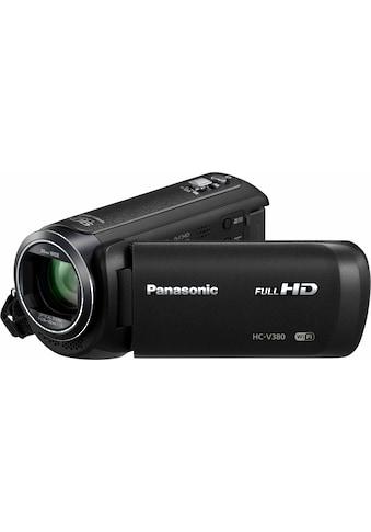 Panasonic »HC - V380EG - K« Camcorder (Full HD, WLAN (Wi - Fi), 50x opt. Zoom) kaufen