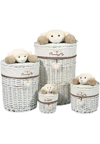 Kayoom Aufbewahrungskorb (Set, 4 Stück) kaufen
