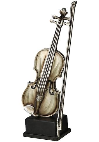 Ambiente Haus Dekofigur »Geige Figur S« kaufen