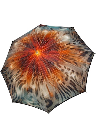 doppler MANUFAKTUR Stockregenschirm »Boheme, amber«, handgemachter Manufaktur-Stockschirm kaufen